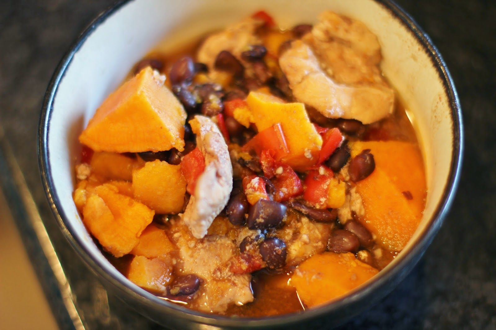 The Chronicles of Ruthie Hart: Sweet Potato Black Bean Chili