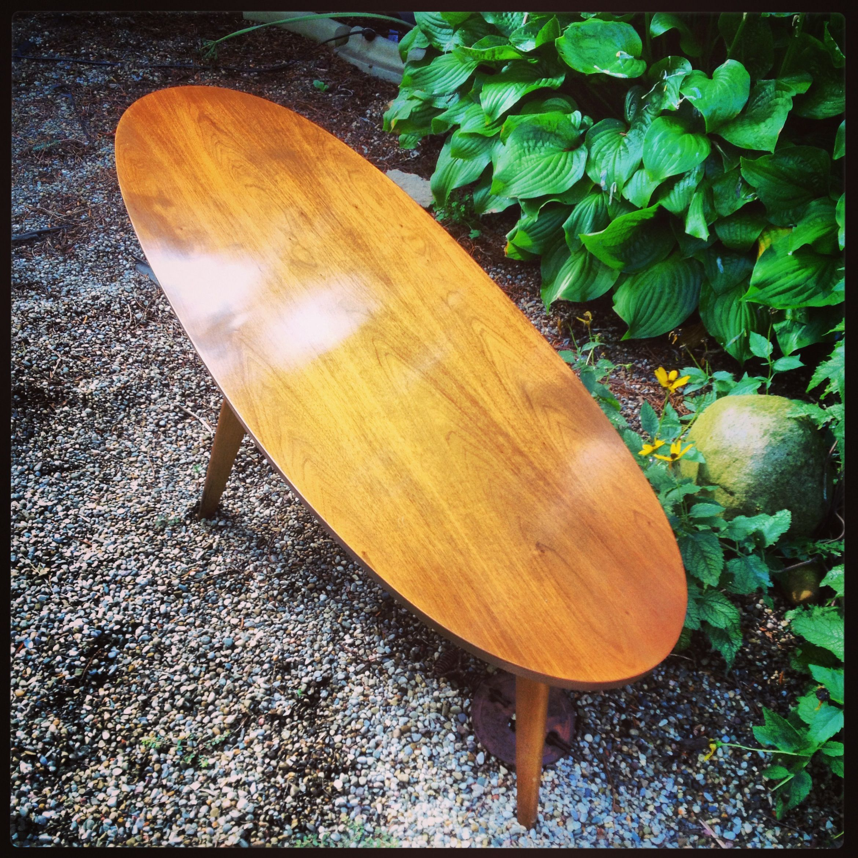 Mersman surfboard coffee table