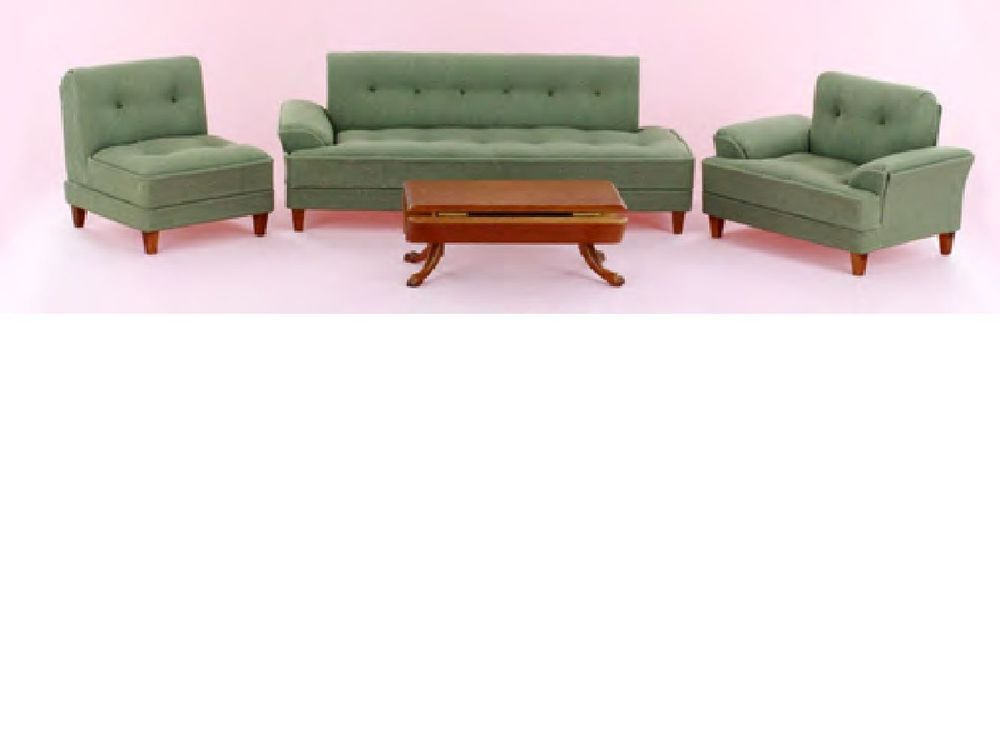 Bespaq Dollhouse Miniature Replica 1950 Furniture I Love Lucy Sofa Living  Set, Got This For