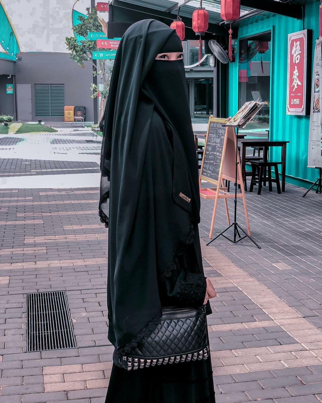 Pin by ... on Elegant | Beautiful hijab, Niqab, Fashion