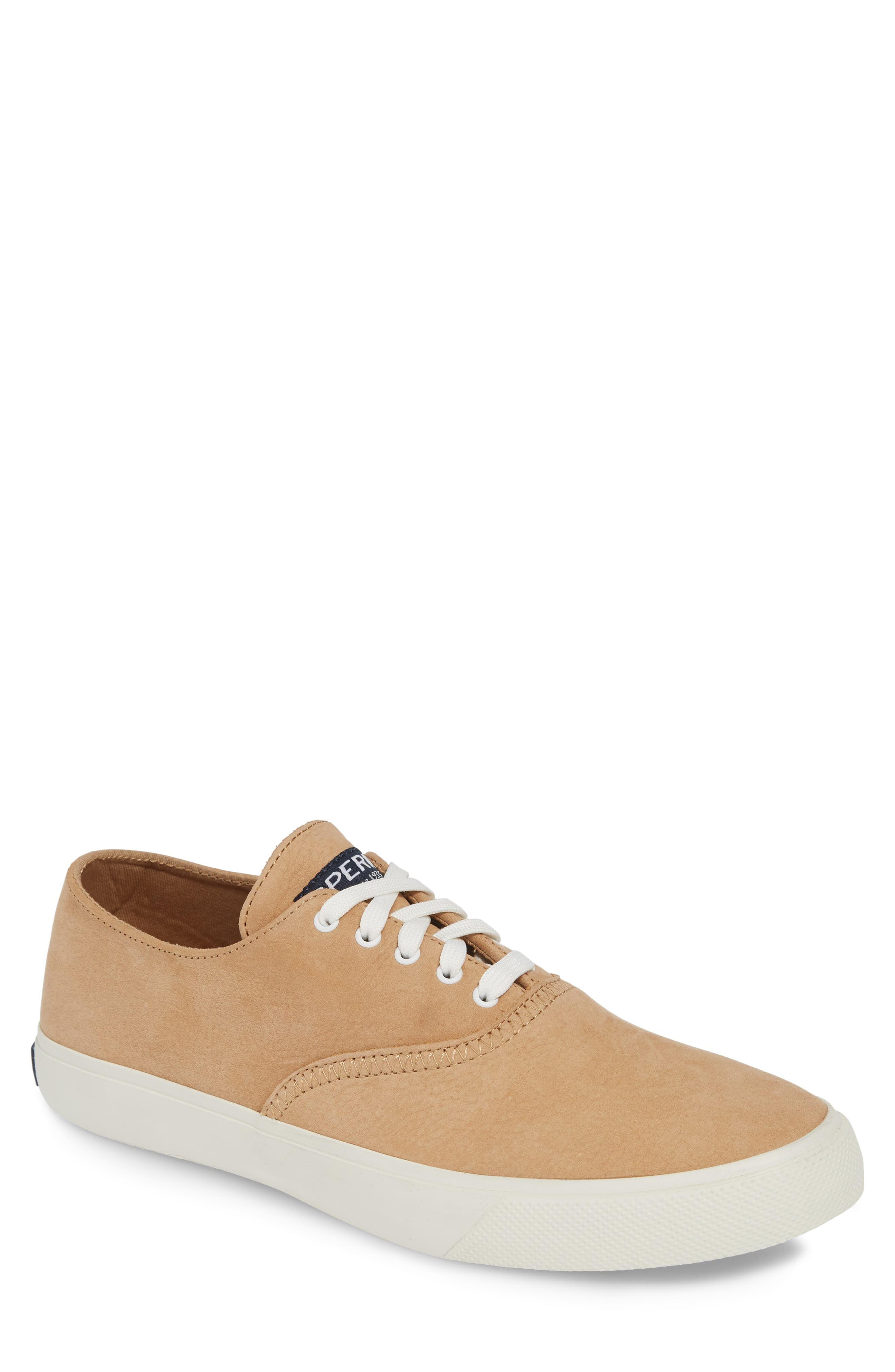 a4fa77c64b35d Men's Sperry Captains Cvo Washable Sneaker, Size 10.5 M - Brown ...