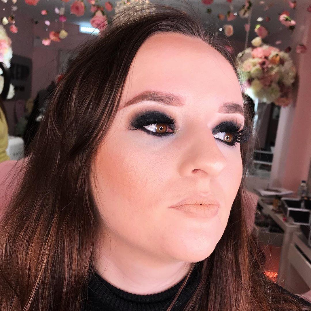 Dark Red GLAM & GRUNGE Makeup Tutorial   @MARIYA.AE - YouTube