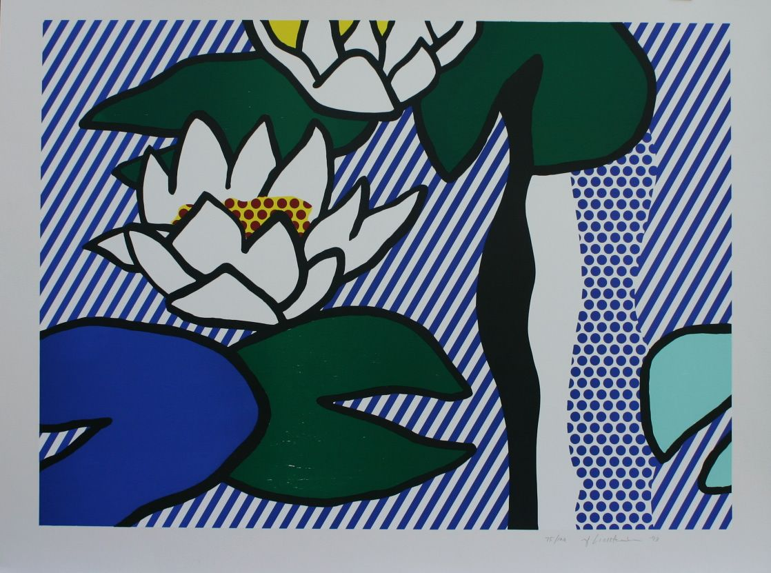 Roy Lichtenstein | Nympheas 1993