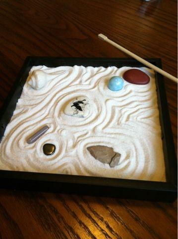 easy zen garden in a box