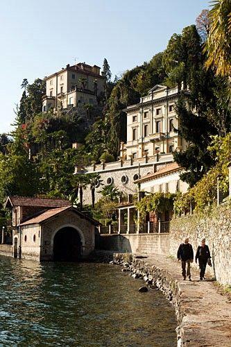 ~Island of San Giulio. Italy, province of Novarra  region of Piemonte, Italy~