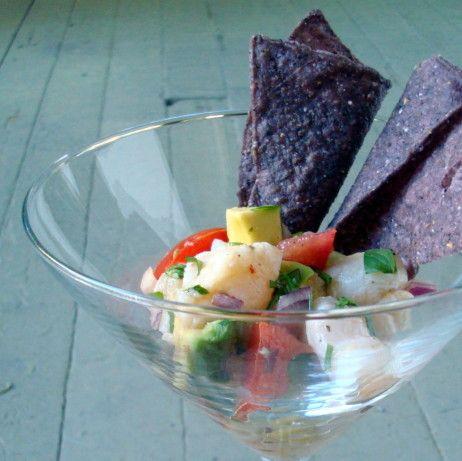 Fresh and simple swai ceviche recipe ceviche salsa for Is swai fish healthy