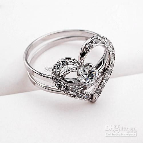 Women - Wholesale Cheap Engagement Rings Happy