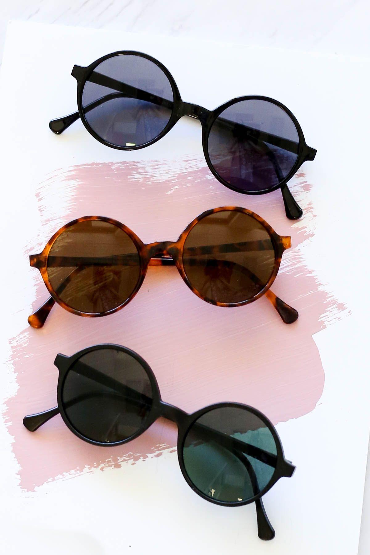 Tezza Round Sunglasses Sunnies Summer Brunch Outfit Summer Brunch Outfit Sunglasses