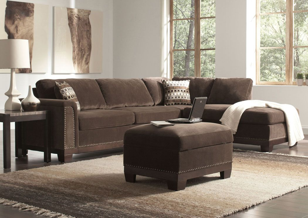 Furniture Stores in Miami #1 Discount Ashley Home Furniture Mason Chocolate Sectional