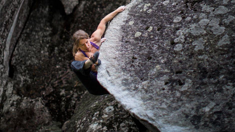 Heel Hook Rock Climbing Technique