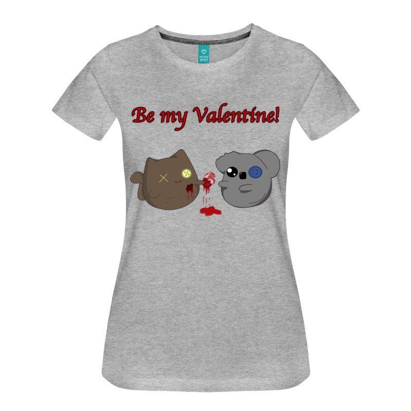 Valentinstag Liebe Herz Blut Katze Koala Kawaii Japan Anime Manga  Romantisch Süß Knopf Gruselig Puppe Nähen