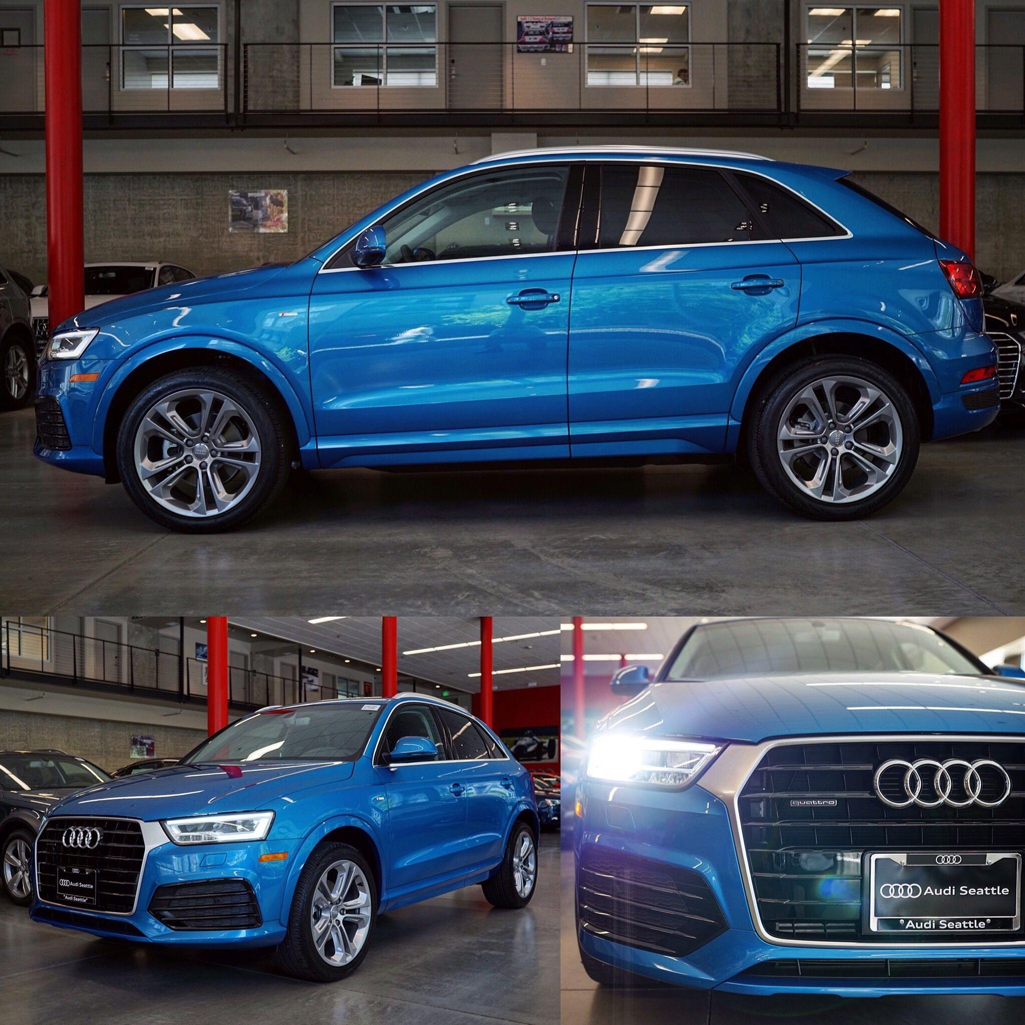 Hainan Blue #Q3 #SLine #Quattro / #Audi #Seattle