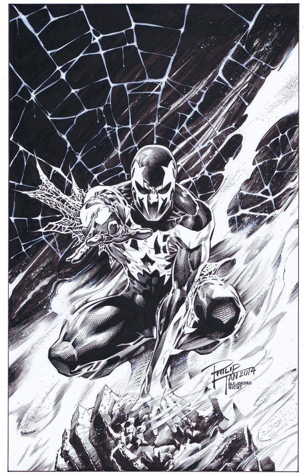 Spider-man 2099: Philip Tan by boysicat on DeviantArt