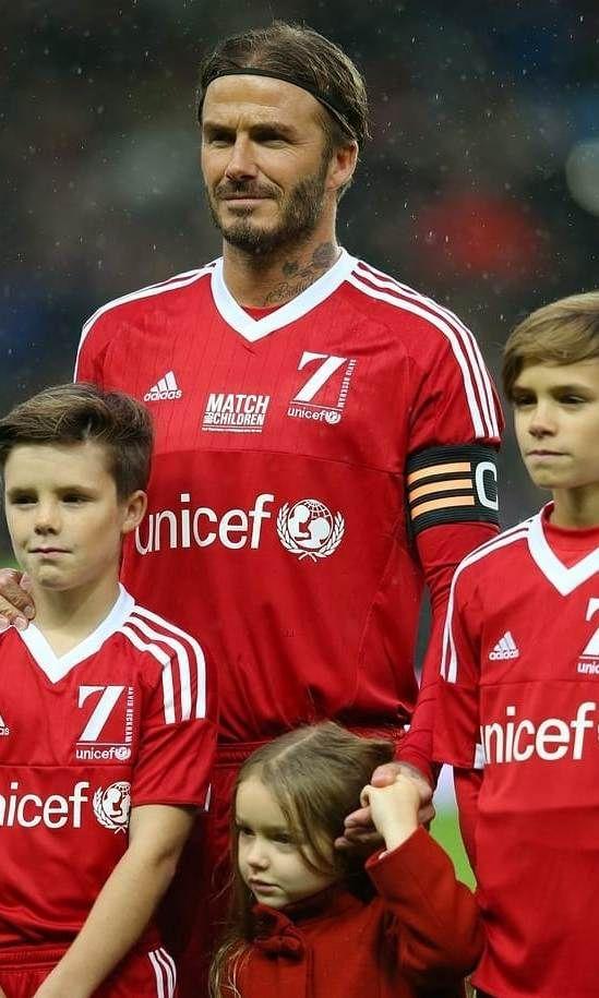 Hollywood The Beckham Family Beckham David Beckham