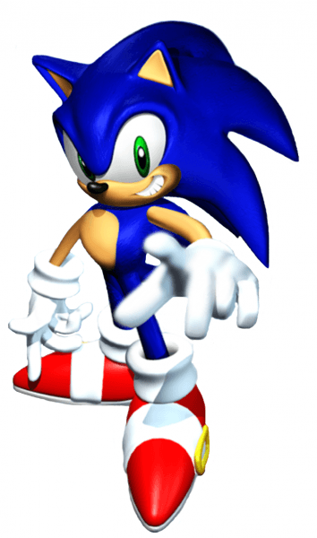 Sonic 3d 3 From The Official Artwork Set For Sonicadventure On The Sega Dreamcast And Gamecube Http Www Sonicsc Sonic The Hedgehog Sonic Adventure Sonic