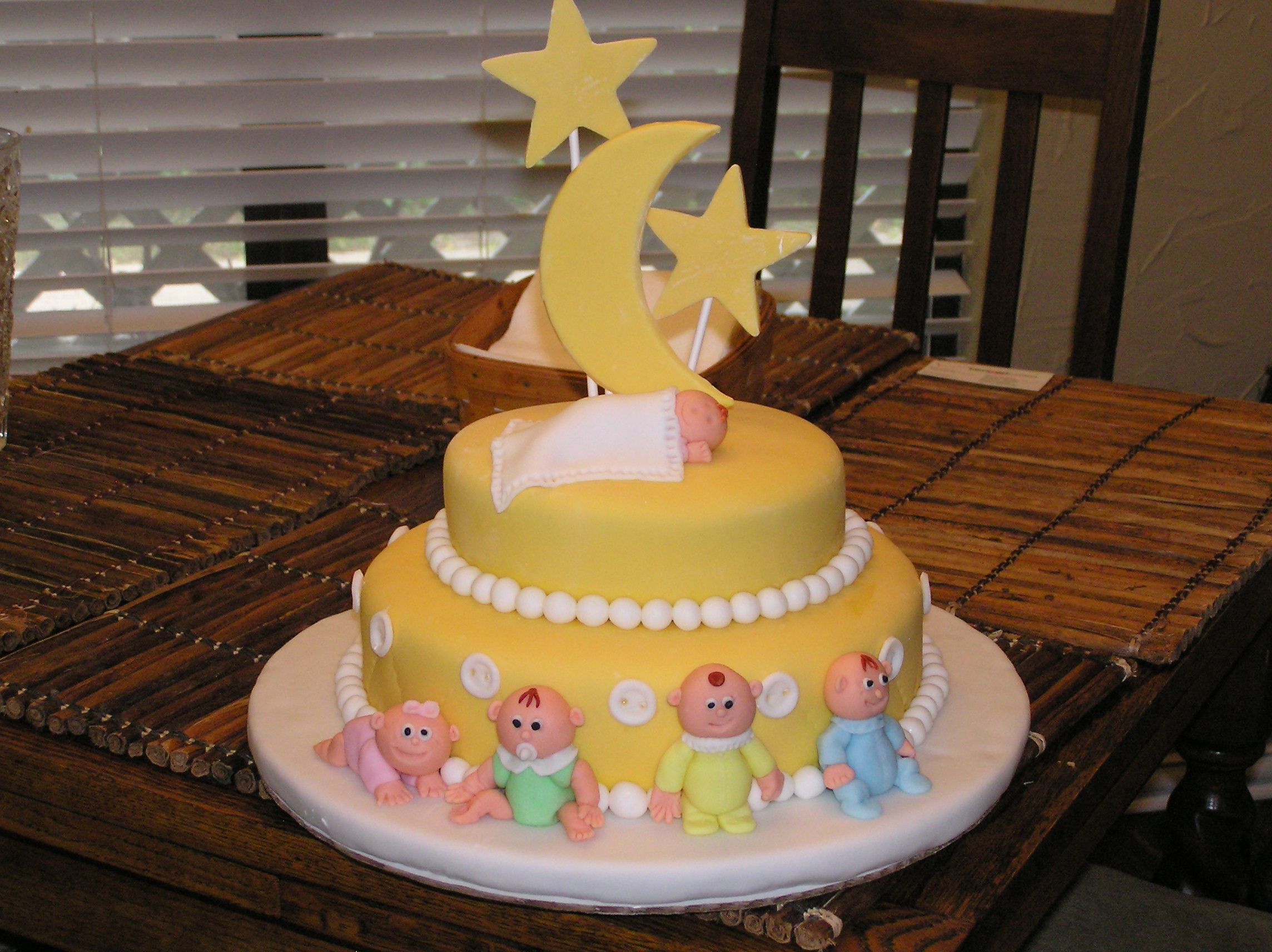 Baby Shower cake I made for a friend