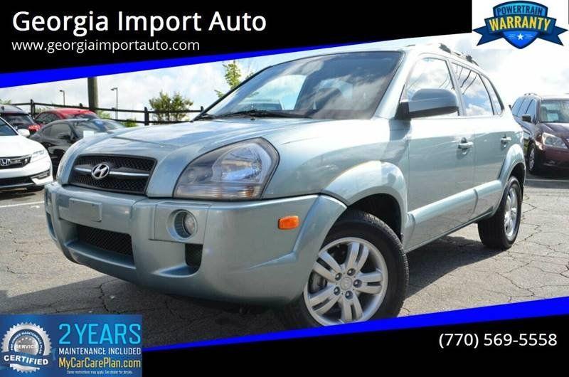 Used 2006 Hyundai Tucson 4WD for sale in ALPHARETTA, GA