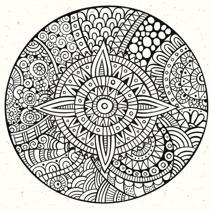 Mándalas para Colorear con Significado (10) | Mandalas | Pinterest