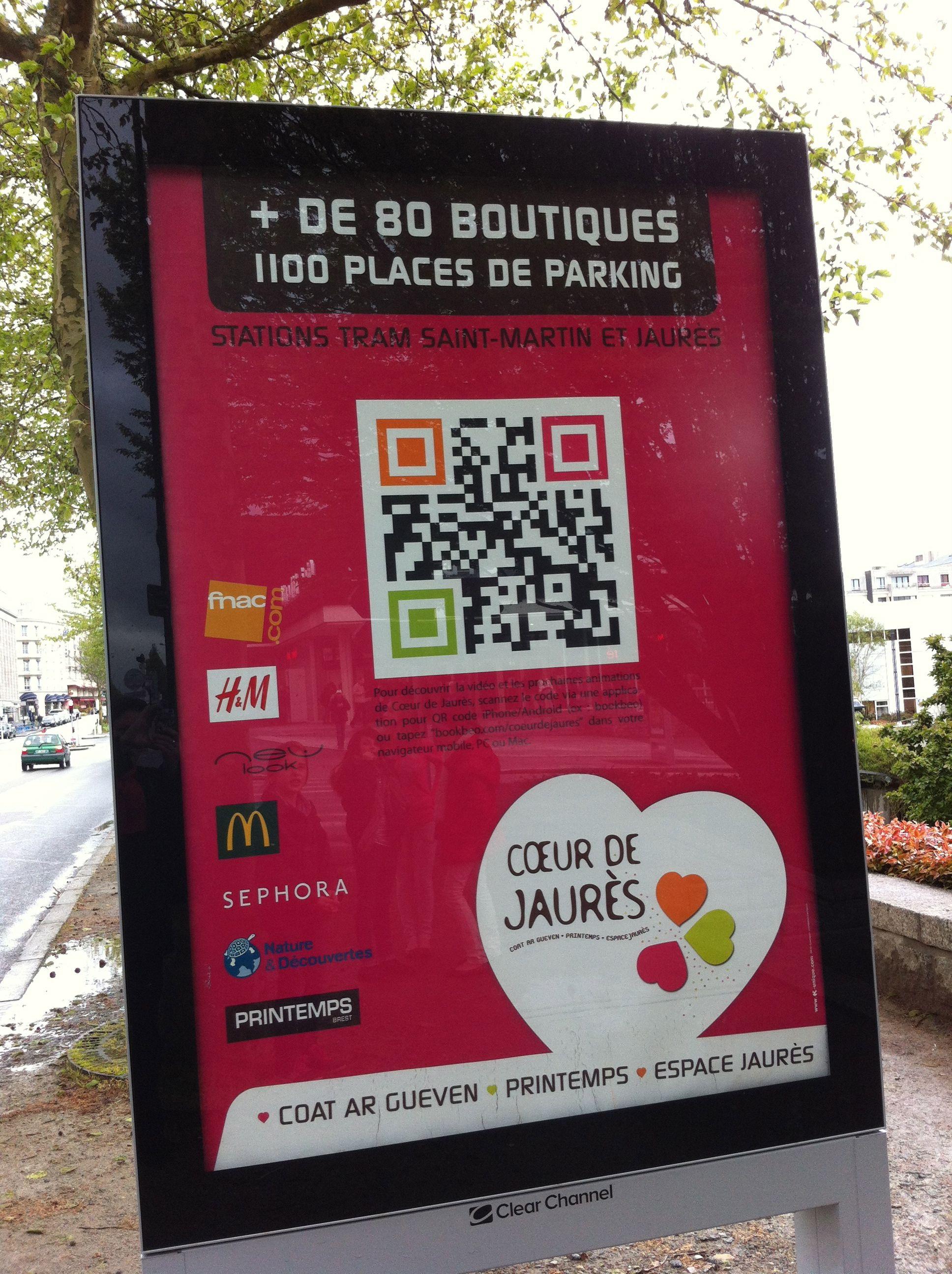 Qr Code Bookbeo Pour Le Coeur De Jaur Agence -unique Codes And