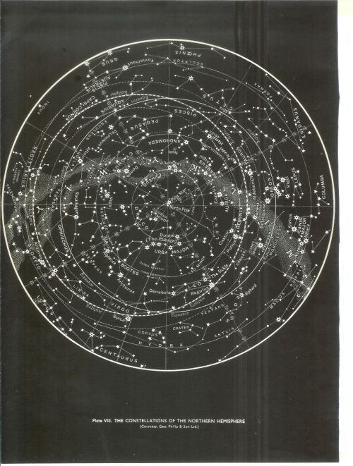 1959 constellations of the northern hemisphere