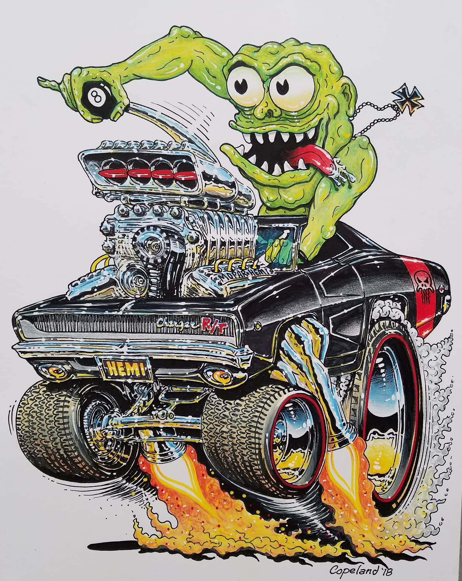 Ed Roth Tribute Funnies Art Cars Rat Fink