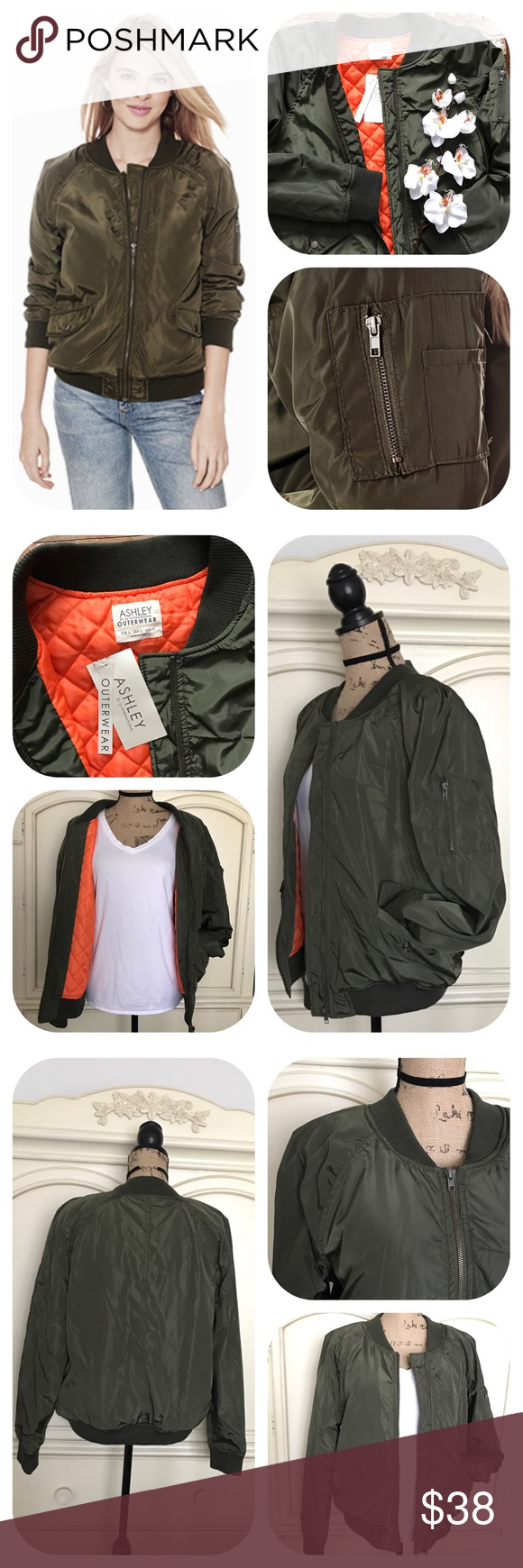 Ashley By 26 International Outerwear Bomber Jacket Bomber Jacket Clothes Design Outerwear [ 1740 x 580 Pixel ]