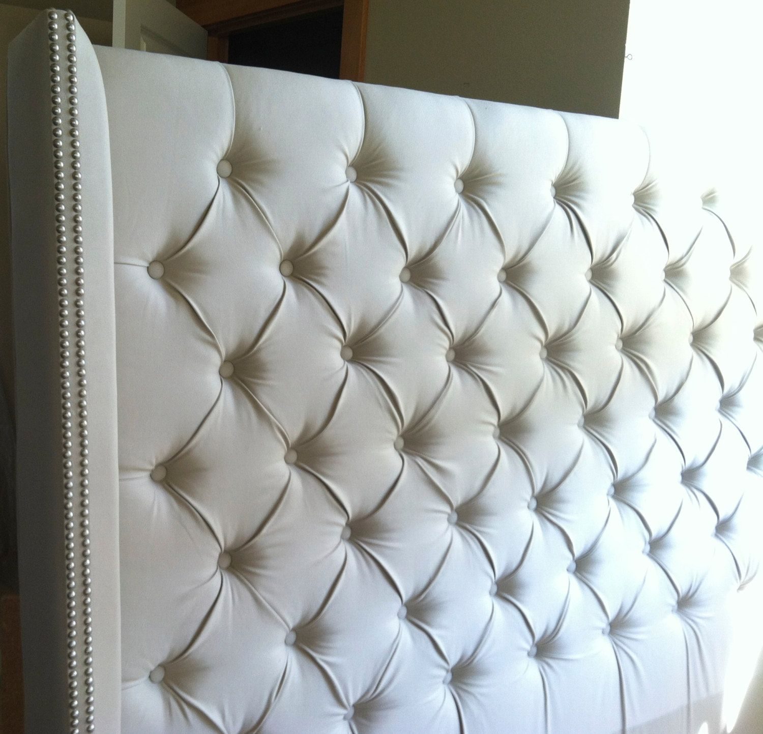 Diamond Tufted Headboard King With Gorgeous Designs