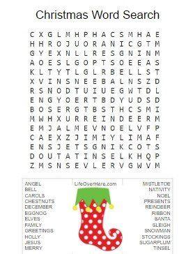 christmas word search christmas word search christmas words and word search - Christmas Words That Start With Z