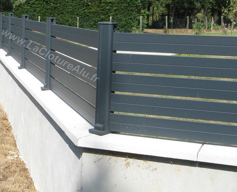 Notre Poteau En Aluminium Permet Aussi De Faire Les Angles De 90 A 180 Avec Images Cloture Maison Cloture Aluminium Meuble Jardin