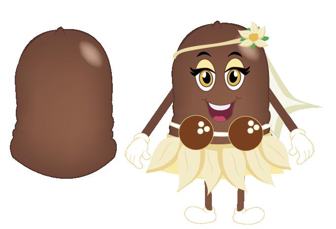 Coco - vainilla  by : beso de mosa