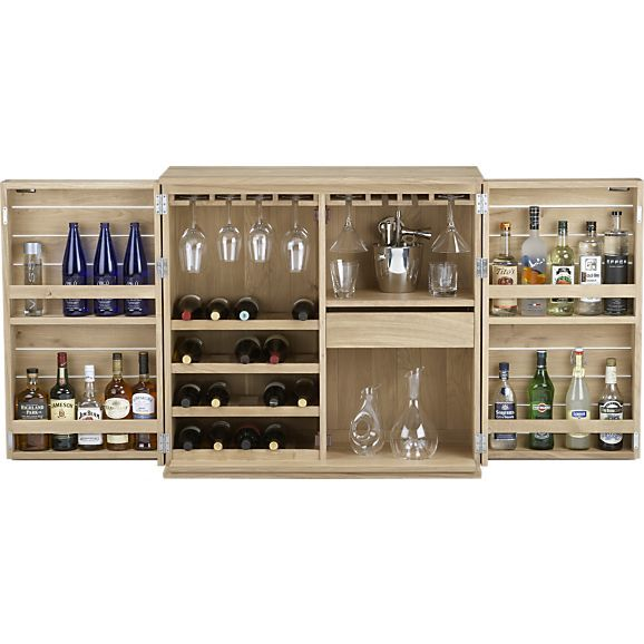 elan bar cabinet in bar cabinets crate and barreli want