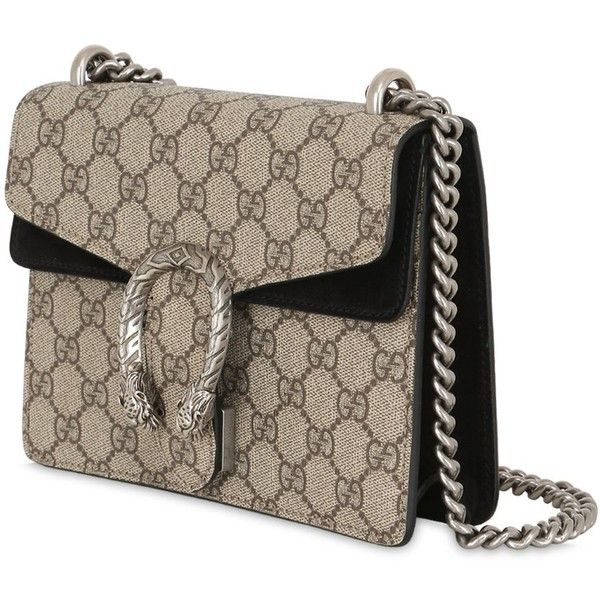 822065a825d7 Gucci Women Mini Dionysus Gg Supreme Shoulder Bag ($1,265) ❤ liked ...