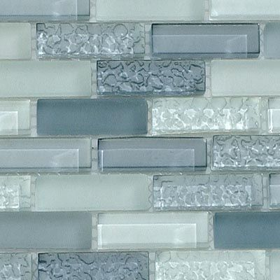 Textured Glass Tile Backsplash Would Match My Granite Counter