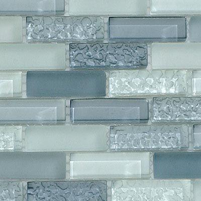 Textured glass tile backsplash for the home pinterest for Textured backsplash