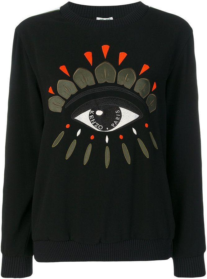 e2816e5dbf Kenzo Eye sweatshirt | Products | Sweatshirts, Embroidered ...