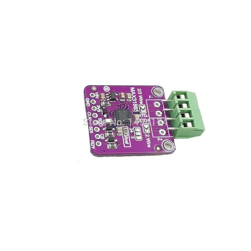 Wqscosea Q8s 217 Max31865 Pt100 1000 Rtd To Digital Converter Thermocouple Temperature Sensor Amplifier Board