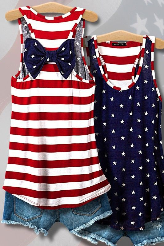 c0c6bc239ee You ll be  star-spangled    adorable in this festive tank top! But it s not  just for holidays