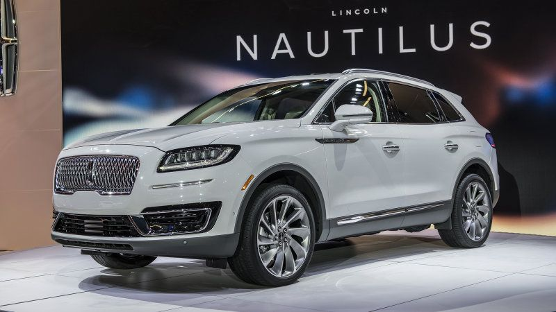 2019 Lincoln Nautilus Midsize Suv Replaces Lincoln Mkx With