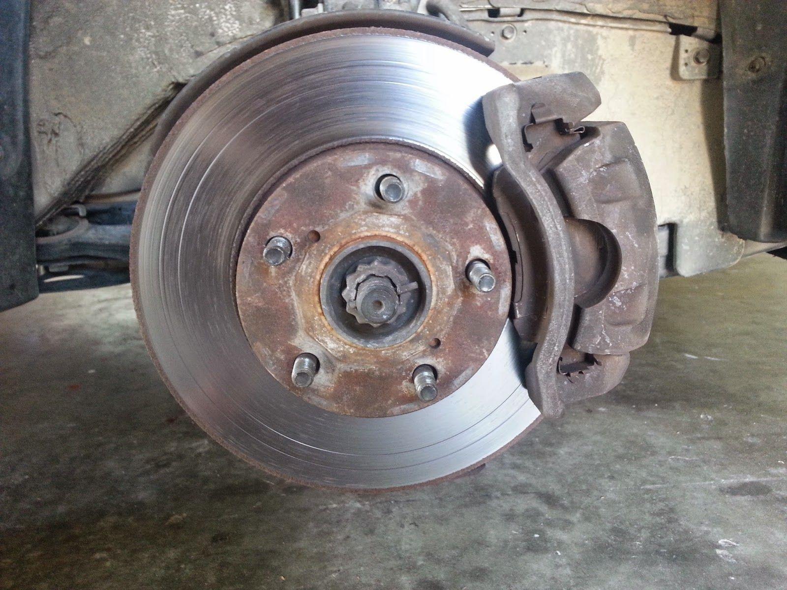 Corolla DIY: DIY - Front Brake and Rotors 2000 Toyota Camry