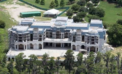 Versailles The Would Be Biggest House In America Houses In America Versailles Big Houses