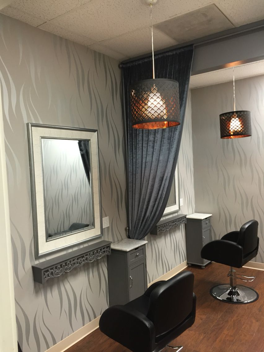 Hair studio/suit @ Salon Murcel in San Ramon, CA. Ready for you to just move in! Interested? call @ 925-552-5103. Don't just let walls separate from your fellow hair professionals. It's the best of two worlds. The privacy of a suit & the openness of a hair salon.