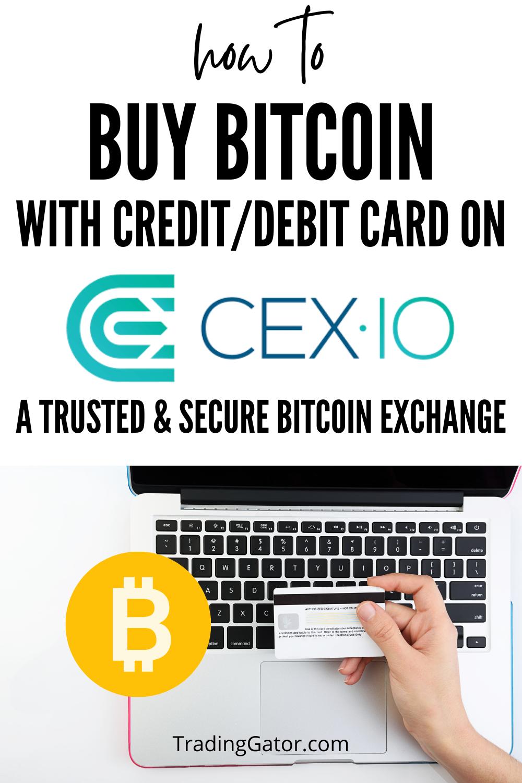 Buying Bitcoins With Credit Card Or Debit Card On Cex Debit Card Debit Online Broker