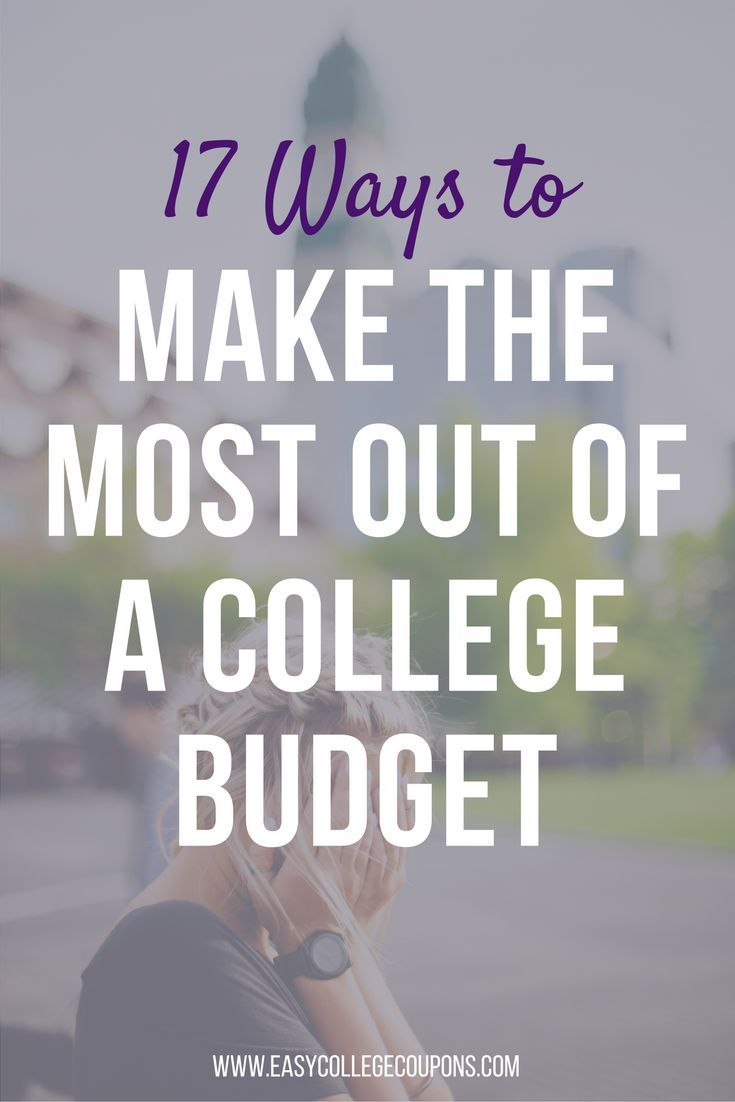 budgets for college students