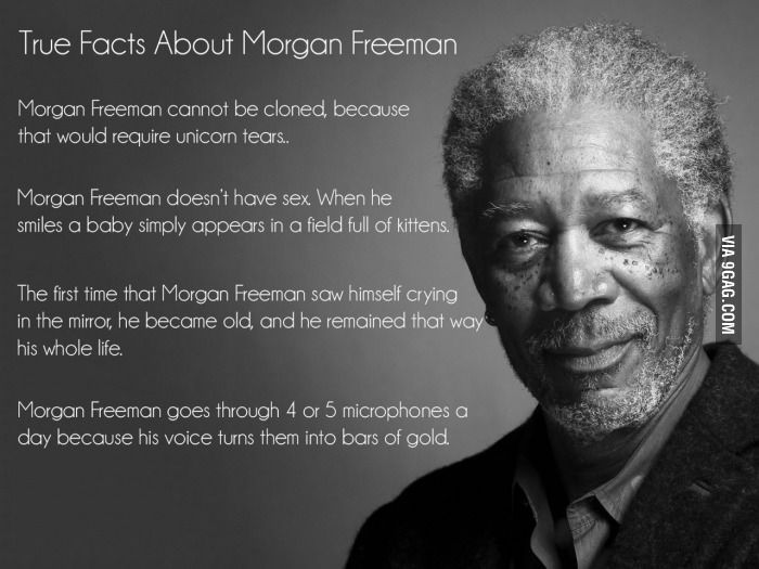True Facts About Morgan Freeman