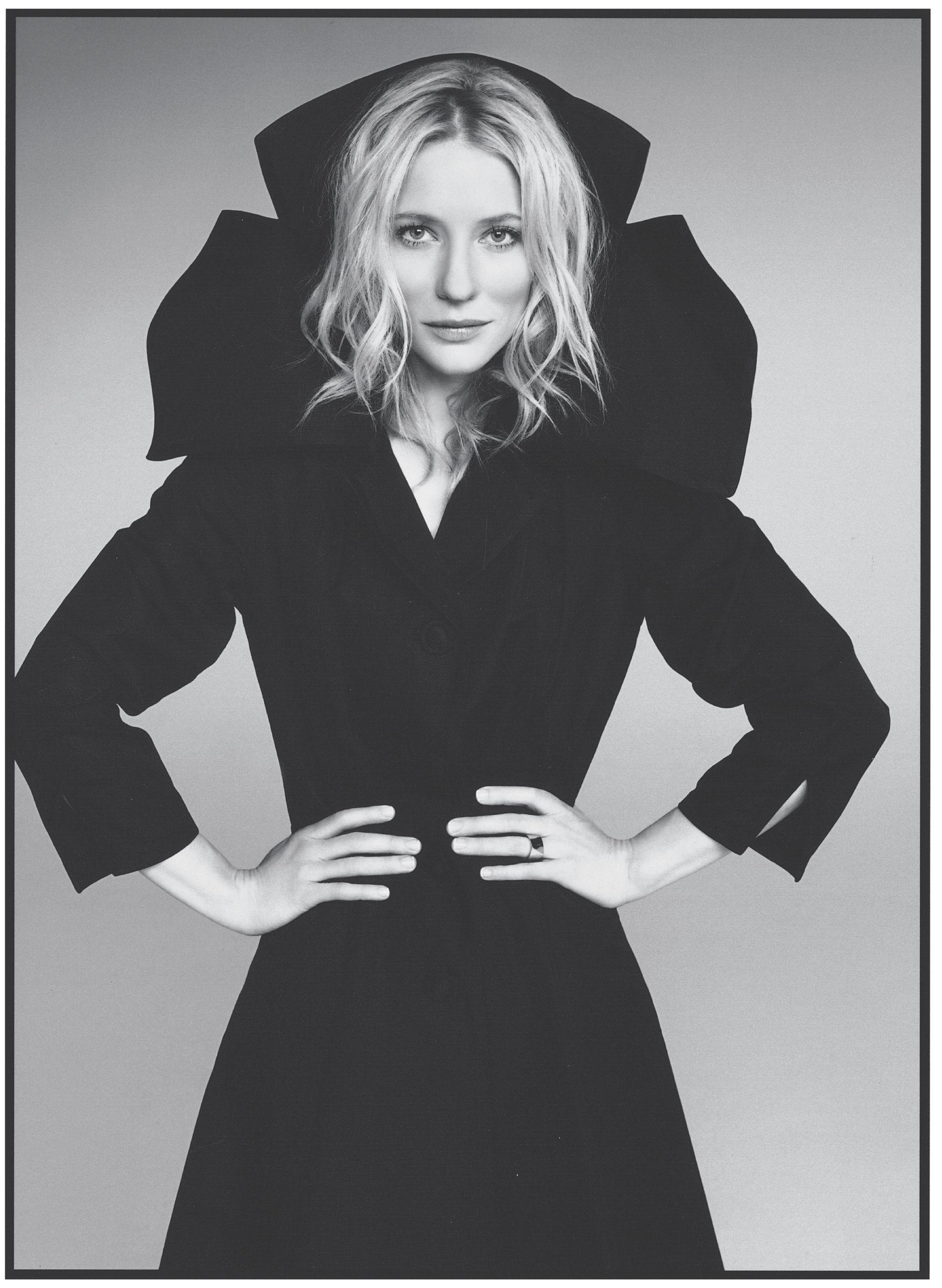 Cate Blanchett, photo by John Lahr