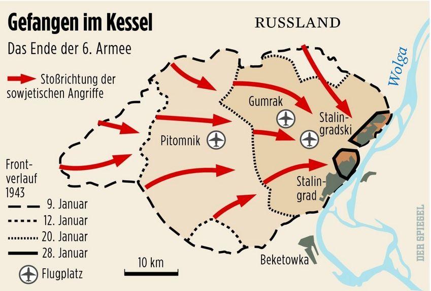 Der Kessel von Stalingrad: Am 22. November 1942 ist die 6. Armee in ...