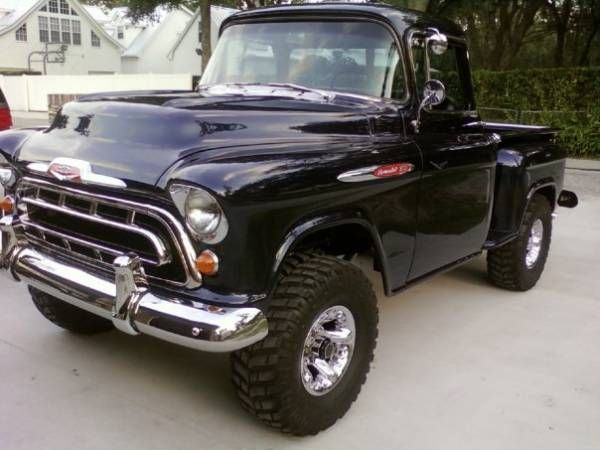 Pin By Fate Bennett On My Dream Garage 57 Chevy Trucks Chevy