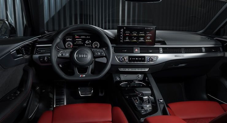 2019 Audi A4 Interior In 2020 Audi A4 Audi Audi A4 Black