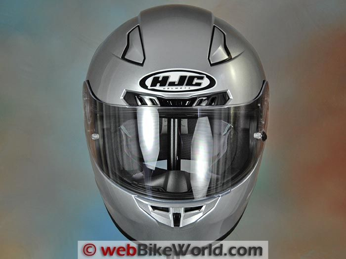 Hjc Cl 17 Helmet Front View Don T Forget The Chin Curtain