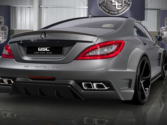 Gsc Produces A Stealth Mercedes Benz Cls63 Amg With Images